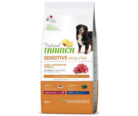 Trainer Natural Dog Sensitive Medium&Maxi Lamb