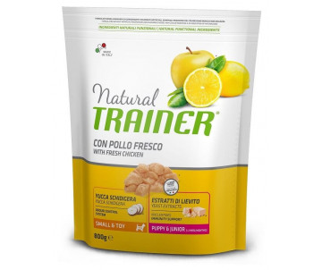 Trainer Natural Dog Puppy Junior Mini Chicken