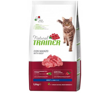 Trainer Cat Natural Adult Beef