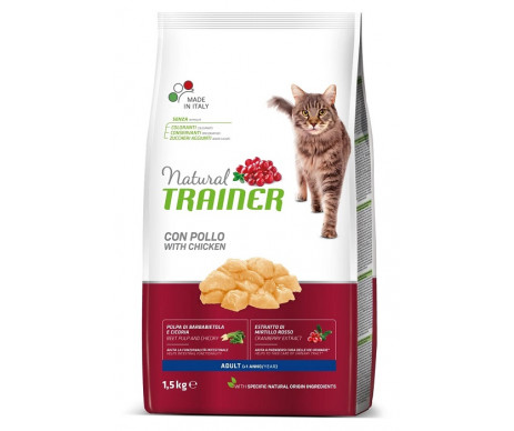 Trainer Cat Natural Adult With Fresh Chicken