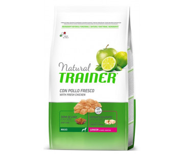 Trainer Natural Dog Junior Maxi Chicken