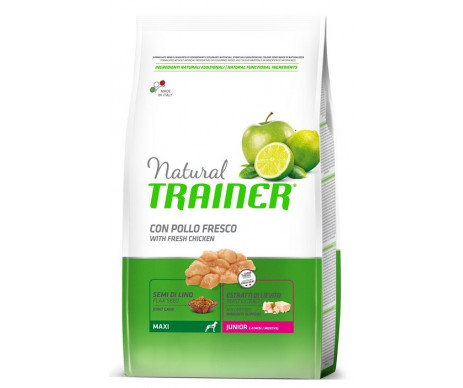 Trainer Natural Dog Junior Maxi