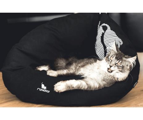 My Kotty EMI black Кровать для кошек