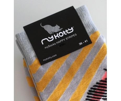 My Kotty MYSOCKS Happy stripes Носки