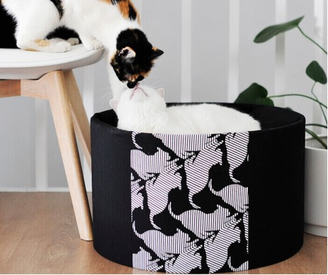 My Kotty OTI black Кровать для кошек