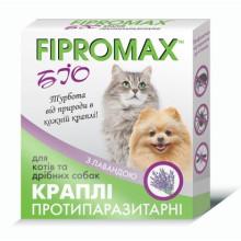 FIPROMAX BIO Капли от блох и клещей для котов и мелких собак, 1 пипетка