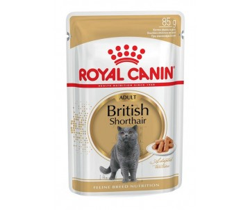 Royal Canin Cat BRITISH SHORTHAIR ADULT Wet