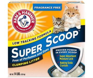 ARM&HAMMER Super Scoop Clumping Litter Fresh Scent комкующийся наполнитель для кошачьего туалета, свежий аромат