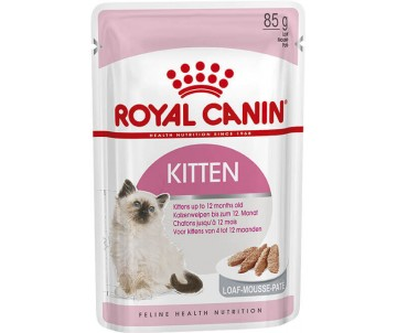 Royal Canin KITTEN LOAF паштет для котят до 12 месяцев