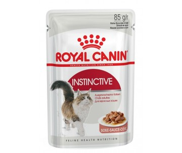 Royal Canin INSTINCTIVE IN GRAVY полнорационный влажный корм для кошек старше 1 года