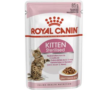 Royal Canin KITTEN STERILISED Wet