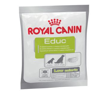 Royal Canin EDUC CANINE дополнительный корм (лакомства) для щенков от 2 месяцев и для взрослых собак для дрессировки