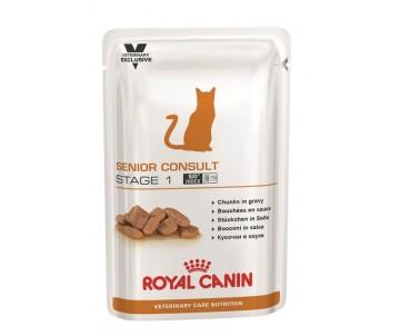 Royal Canin SENIOR CONSULT STAGE 1 влажный корм для котов и кошек от 7 лет без признаков старения