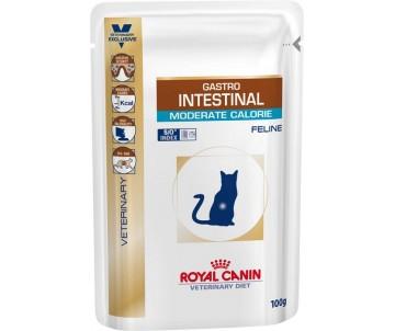 Royal Canin GASTRO-INTESTINAL MODERATE CALORIE FELINE влажный корм для кошек при нарушении пищеварения