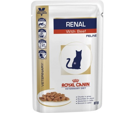 Royal Canin VD Cat RENAL BEEF Wet