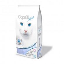 Capsull Delicate (baby powder) кварцевый наполнитель для туалетов кошек