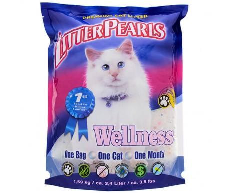 Litter Pearls Wellness кварцевый наполнитель для кошачьего туалета