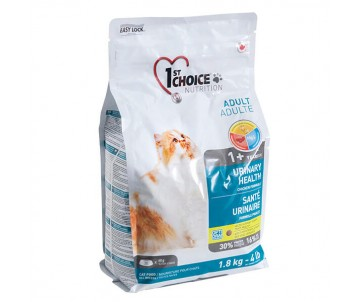1st Choice Urinary Health Уринари сухой корм для котов склонных к МКБ (мочекаменная болезнь)