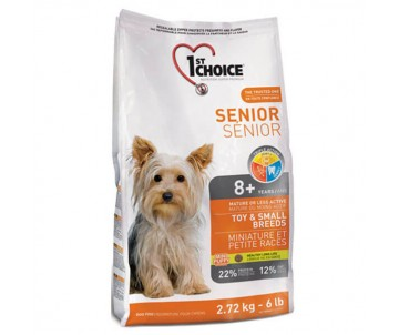 1st Choice Dog Senior Toy Small Breeds
