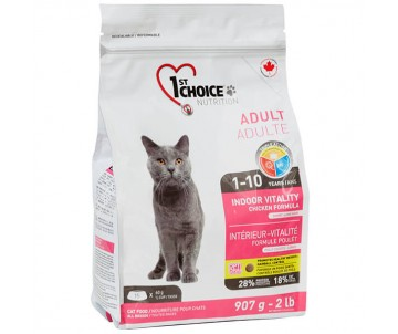 1st Choice Cat Adult Indoor Vitality Chicken