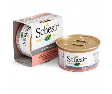Schesir Cat Adult Salmon Natural Style Wet