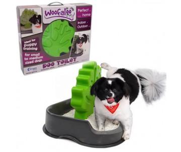 Woofaloo Dog Toilet Туалет с деревом столбиком для кобелей собак малых и средних пород