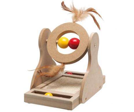 Flamingo Tumbler игрушка для кошек, дерево