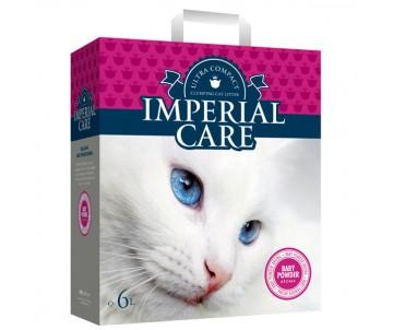 Imperial Care Baby Powder с ароматом детской пудры ультра-комкующийся наполнитель в кошачий туалет