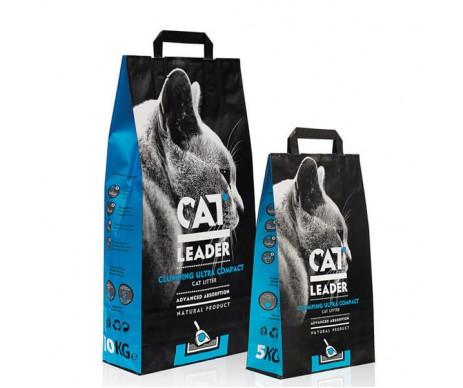 CAT LEADER ультра-комкующийся наполнитель в кошачий туалет