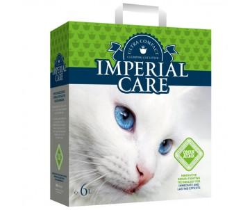 Imperial Care Odour Attack контроль запаха с ароматом летнего сада ультра-комкующийся наполнитель в кошачий туалет