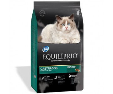 Equilibrio Cat Mature Castrados Indoor