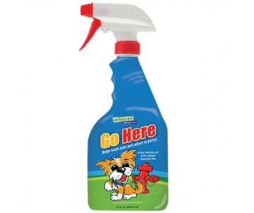 Davis Go Here «Иди сюда» средство для приучения щенков и собак к туалету, спрей