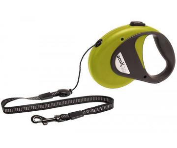 Flamingo Dogx2GO Cord поводок рулетка для собак до 12 кг