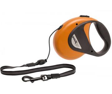 Flamingo Dogx2GO Cord поводок рулетка для собак до 20 кг