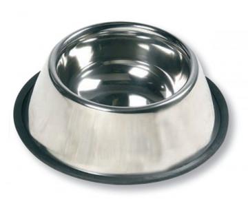 Flamingo Dish Rubber Rim миска для собак с резиновым ободком
