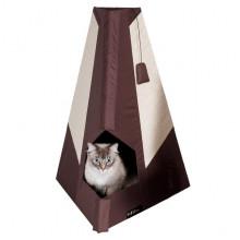 Flamingo Tipi Scratching Board домик-когтеточка для котов
