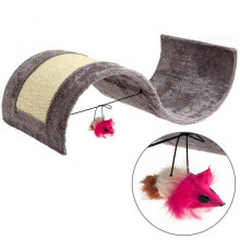 Flamingo Kitty Wave когтеточка для котов с игрушкой, волна