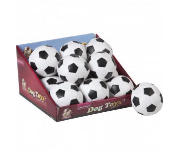 Flamingo Soccerball игрушка для собак, мяч черно-белый маленький
