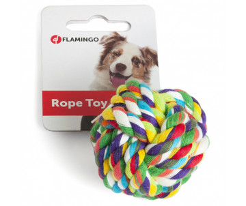 Flamingo COTTON BALL игрушка для собак, мяч