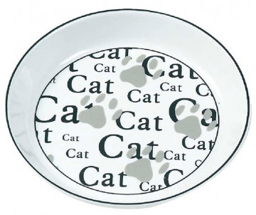 Flamingo Ceramic Cat миска для котов