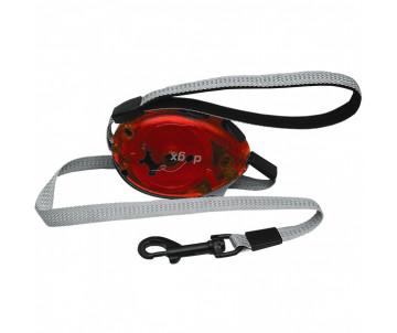 Flamingo Dogx2GO Belt Glassy поводок рулетка для собак до 35кг