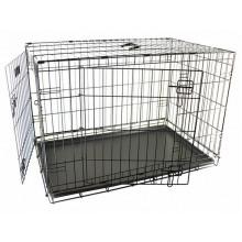 Flamingo Wire Cage Ebo Taupe 2-х дверная клетка для собак