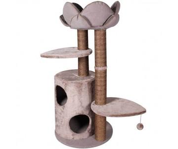 Flamingo Tree+Basket Lotus спально-игровой комплекс для кошек
