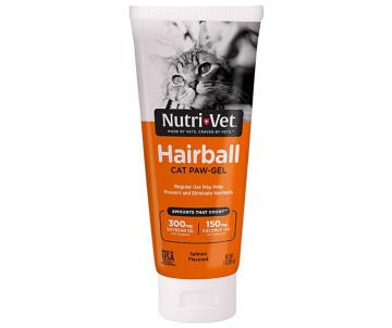 Nutri-Vet Hairball Salmon Нутри-Вет выведение шерсти, добавка для кошек, лосось