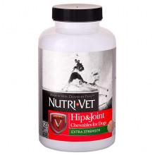 Nutri-Vet Hip&Joint Extra связки суставы екстра 2 уровень, хондроитин и глюкозамин для собак с МСМ