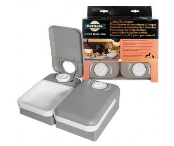 PetSafe Eatwell 2 Meal Pet Feader автокормушка для котов и собак с таймером на 2 порции