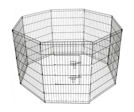 Savic Dog Park вольер для щенков, цинк, 8 панелей