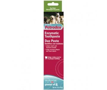 Sentry Petrodex Duo Flavor энзимная зубная паста для собак