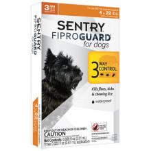Sentry FiproGuard капли от блох, клещей и вшей для собак