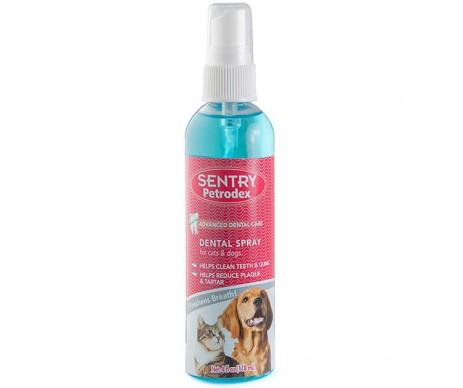 Sentry Petrodex eath Spray спрей освежитель дыхания для собак и кошек